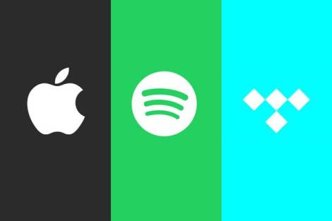 Apple spotify tidal